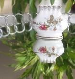 CHODZIEZ 1852 Marie - Rose - Napkin holder with gold rim