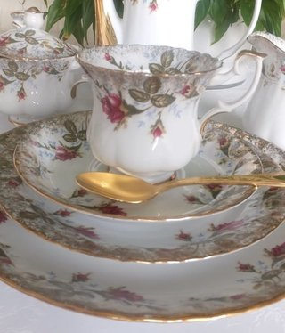 CHODZIEZ 1852 Marie Rose - coffee cup with saucer