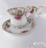 CHODZIEZ 1852 Marie -Rose - Coffee Cup & Saucer