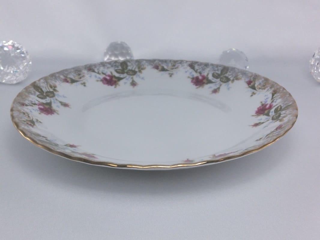CHODZIEZ 1852 Marie - Rose plate flat 24 cm