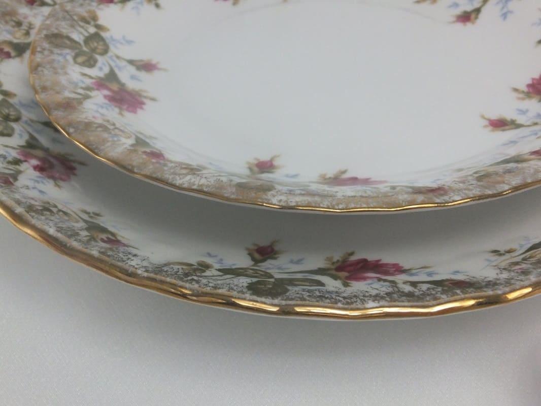 CHODZIEZ 1852 Marie - Rose  Teller flach 24 cm