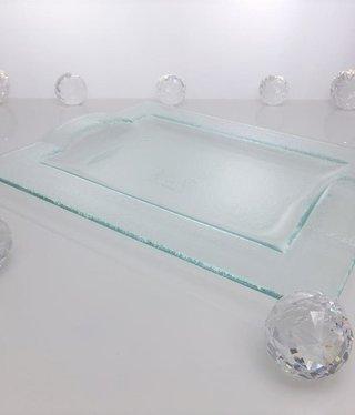 Tablett  - Glas 29, 5 x 22,5 cm