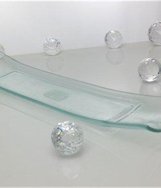 Tablett  - Klarglas 47 x 9,7 cm