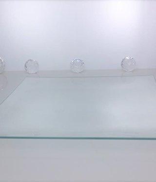 Platzteller - Squared  II Klarglas