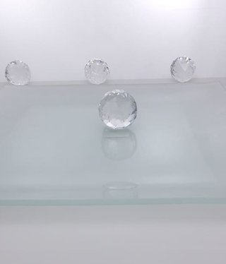 Platzteller - Squared  III  30 x 30 cm