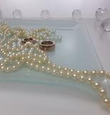 Platzteller  Squared  I 30 x 30 cm aus gefrostetem Glas