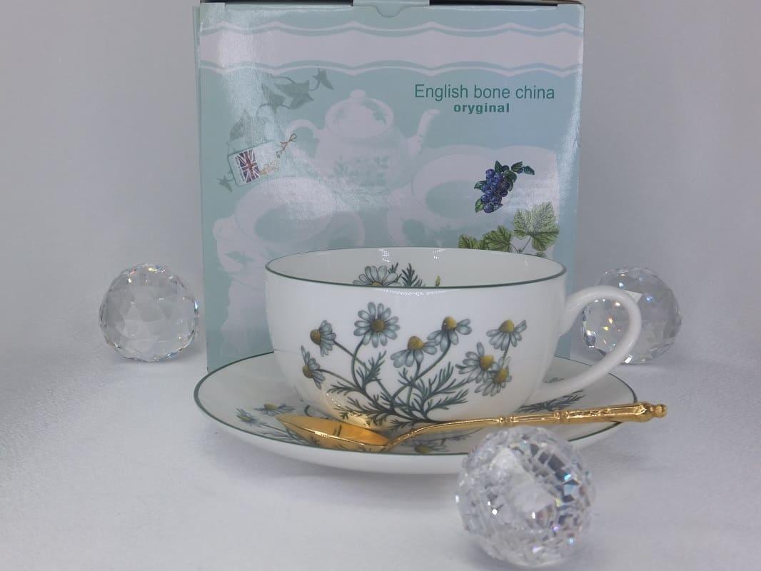 CARMANI - 1990 Grand Mumm Teacups Set - David Mitchell