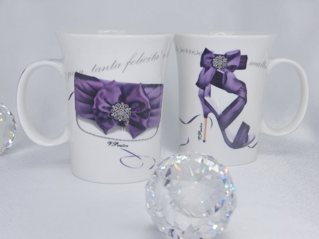 CARMANI - 1990 Coffee Cups Set - Fashionista - Lilla