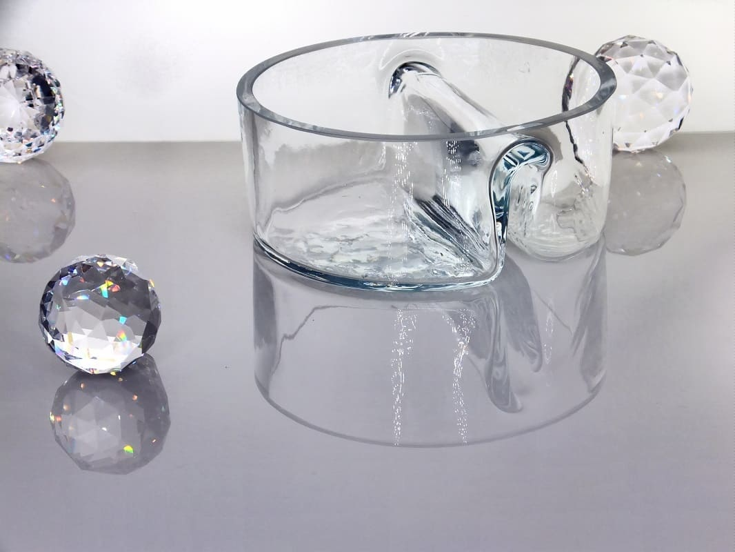 Glass bowl Twin 14.5 cm x 6 cm
