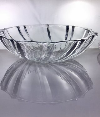 IRENA -  1924  Large Serving Bowl - Clear Glass