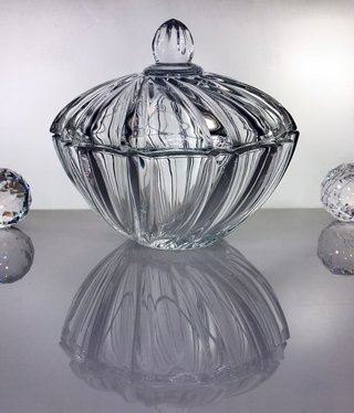 IRENA -  1924  Glass bowl with lid