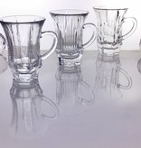 IRENA -  1924  Glass cup coffee cup with base in 3 finishes