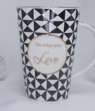 Kaffeetasse - XXL Nero -Weiß