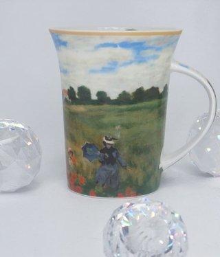CARMANI - 1990 Claude Monet  - Mohnfeld  - Kaffeetasse X