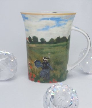 CARMANI - 1990 Claude Monet - Poppy Field - Coffee Cup X