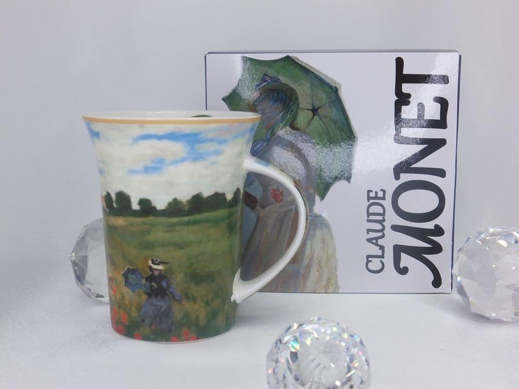 CARMANI - 1990 Claude Monet - Poppy field at Argenteuil - coffee mug