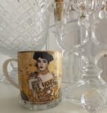 CARMANI - 1990 Gustav Klimt - Adele Bloch Bauer - Coffee cup in a metal box