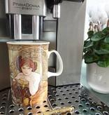 CARMANI - 1990 Alfons Mucha - The Precious Stones - Emerald - Coffee Cup