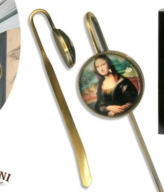 CARMANI - 1990 Leonardo da Vinci - Bookmark - Mona Lisa