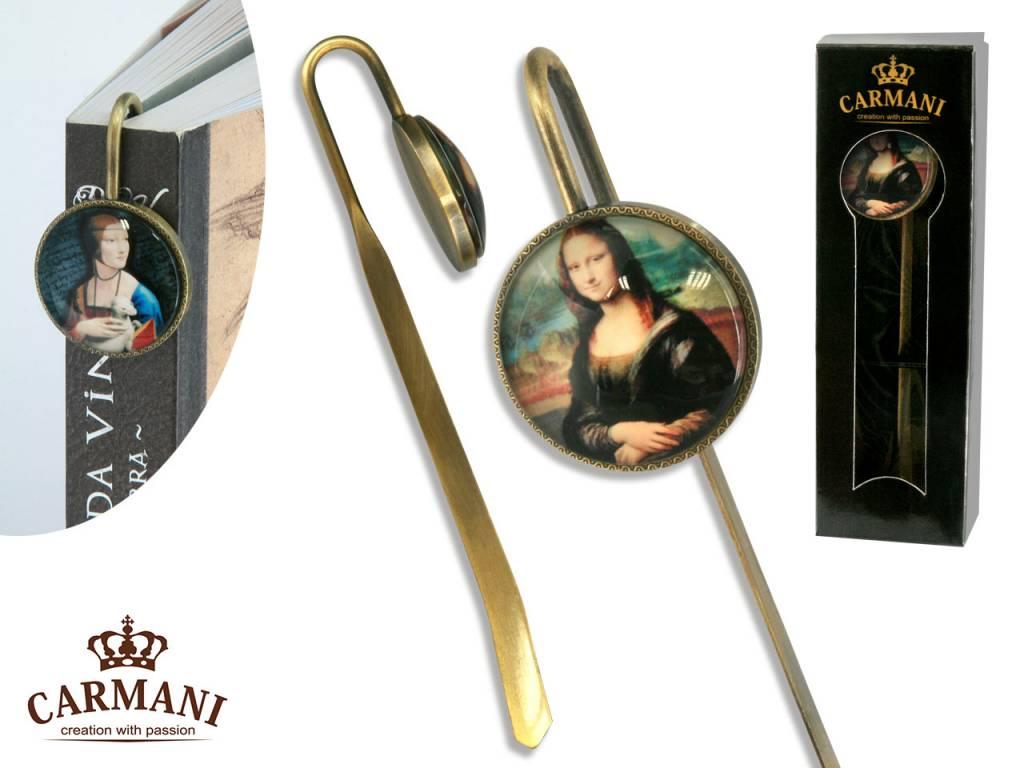CARMANI - 1990 Leonardo da Vinci - Bookmark - Mona Lisa