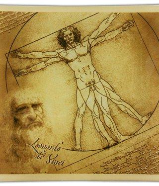 CARMANI - 1990 Leonardo da Vinci -Glasteller  - Vitruvmann
