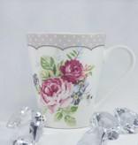 Dallas - stylish porcelain cups set