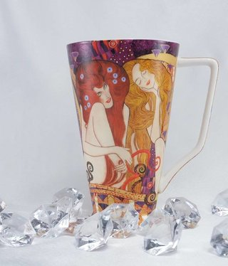 CARMANI - 1990 Gustav Klimt - Mug XL - Beethoven Frieze