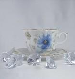 Piaf - elegant china cups in fine bone china - twin cups classic