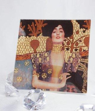 CARMANI - 1990 Gustav Klimt - Judith  Glasteller - 13 x 13 cm