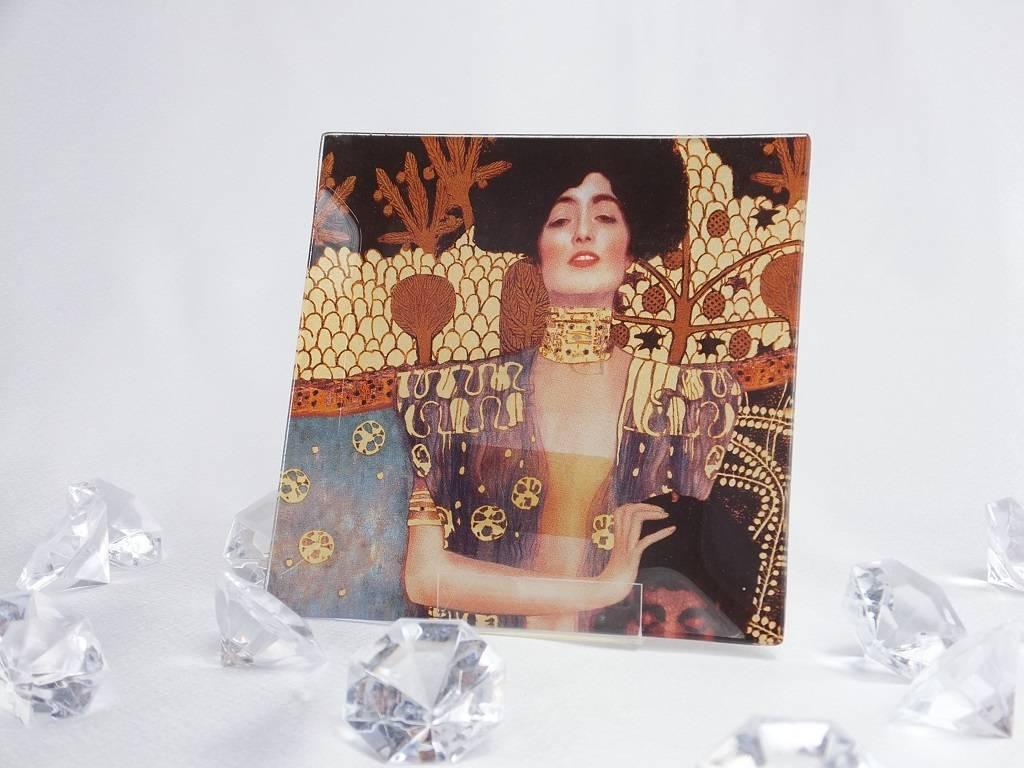 CARMANI - 1990 Gustav Klimt - Judith - Glasteller klein