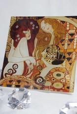 CARMANI - 1990 Gustav Klimt - glass plate - Beethovenfries