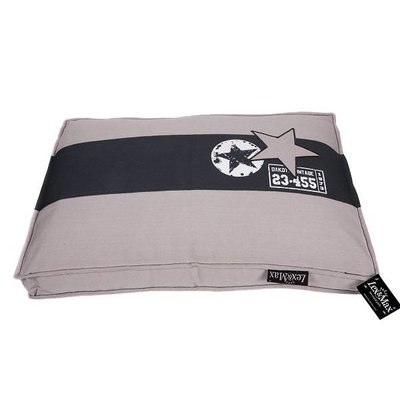 Lex & Max Hoes Boxbed Band-Ster kiezel