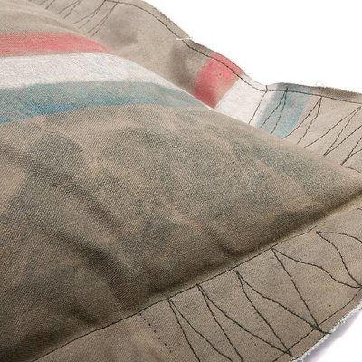 Lex & Max Hondenkussen Hoes Vintage 100 x 70 cm Poste
