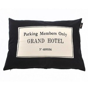 Lex & Max Hondenkussen Grand Hotel Zwart