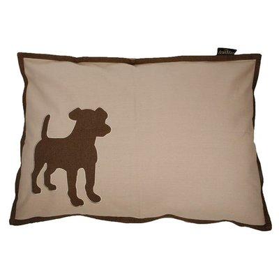 Lex & Max Hondenkussen Dog Kiezel