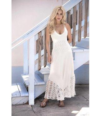 Lange jurk (ivoor)