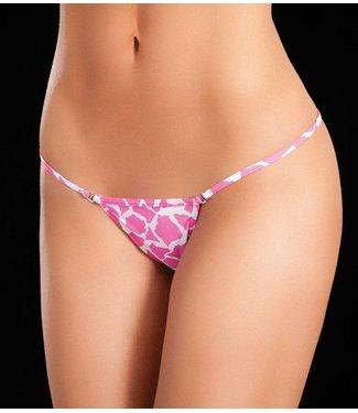 Mapalé Clip Y-back string (animal pink)