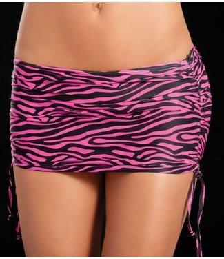 ClassyWear Verstelbaar rokje (zebra pink)