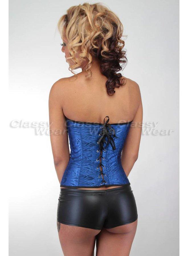 Donkerblauw corset