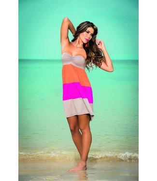 Zomers gekleurd jurkje