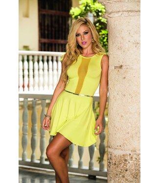 Espiral Lingerie Geel jurkje met riempje