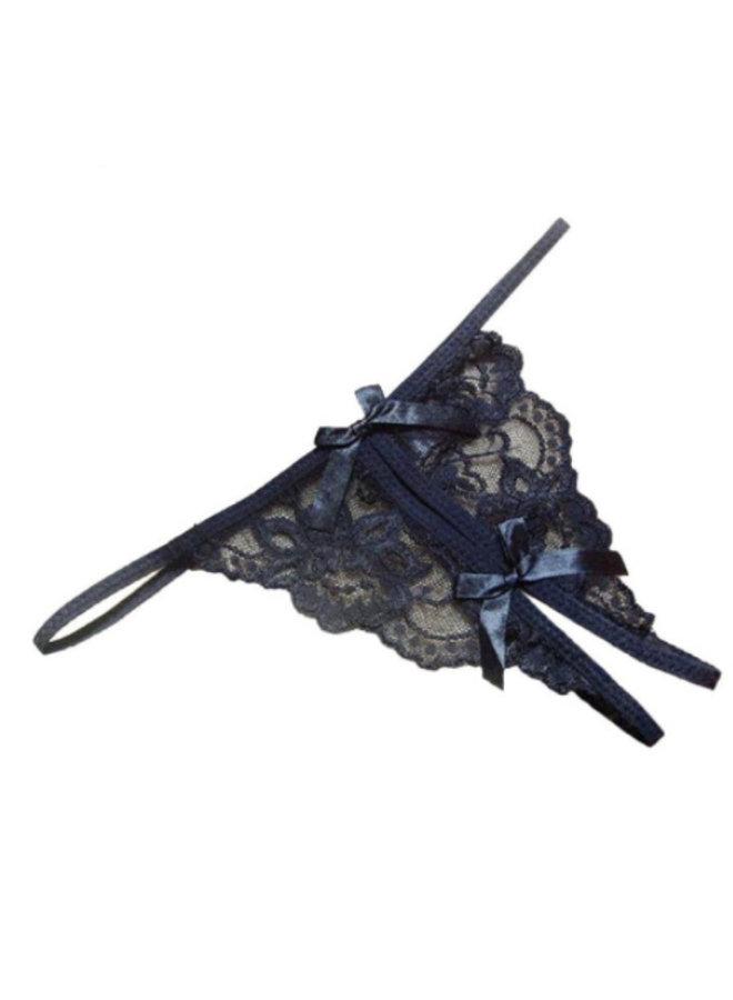 String open kruis (black)