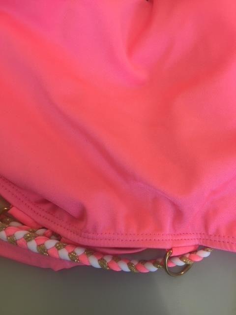 Forplay Roze badpak met open zijkant