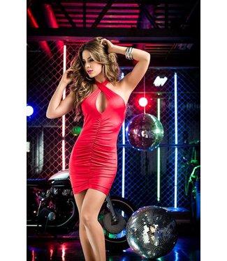 Mapalé Rood jurkje met open rug