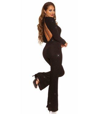 Sparkling jumpsuit (zwart)