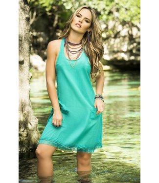 Strandjurkje turquoise