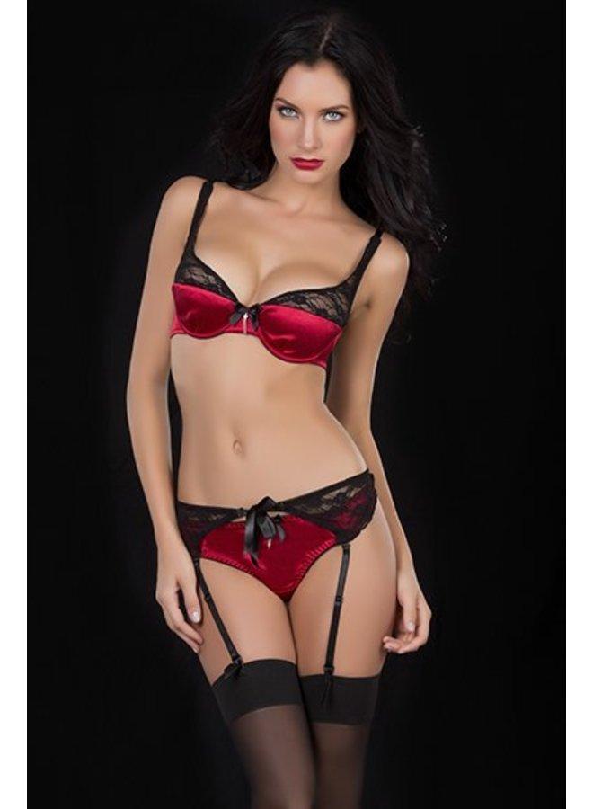 String Camilla black/red