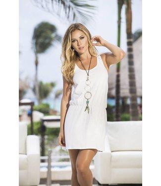 Espiral Lingerie Wit jurkje met gekruiste rug