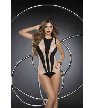 Espiral Lingerie Bodysuit zwart/nude