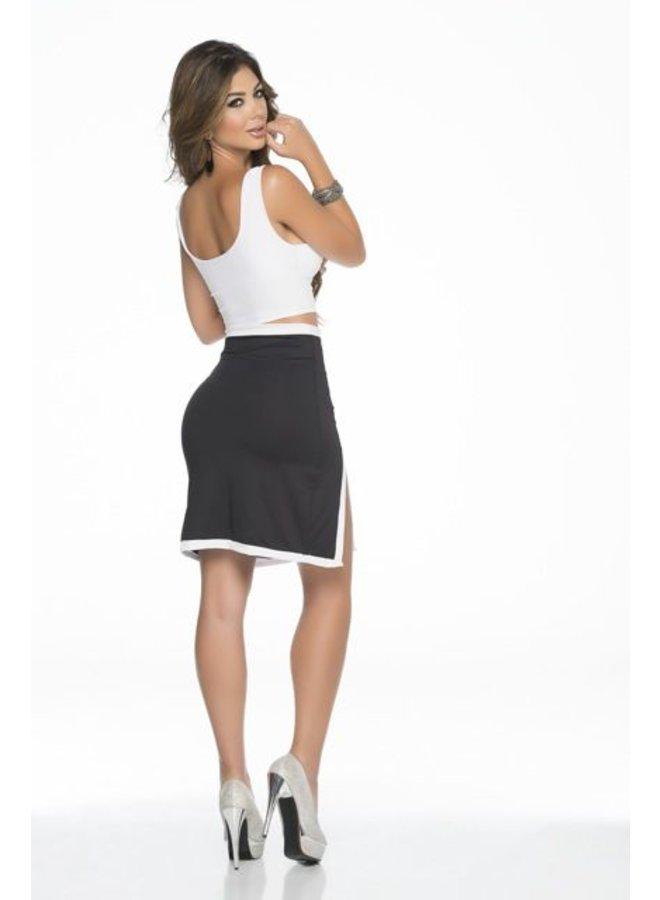 Klassieke zwart- wit rok